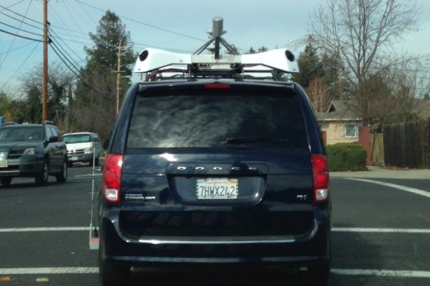 Apple spotted driving sensor-equipped vehicles in the BayArea